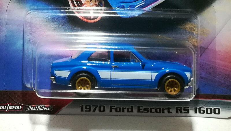 Ford Escort RS1600 de 1970 (Hotwheels) 02