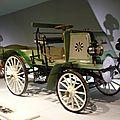DAIMLER Motor Geschäftswagen 1899 Stuttgart (1)