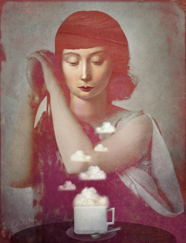 Catrin Welz-Stein - German Surrealist Graphic Designer - Tutt'Art@ (54)
