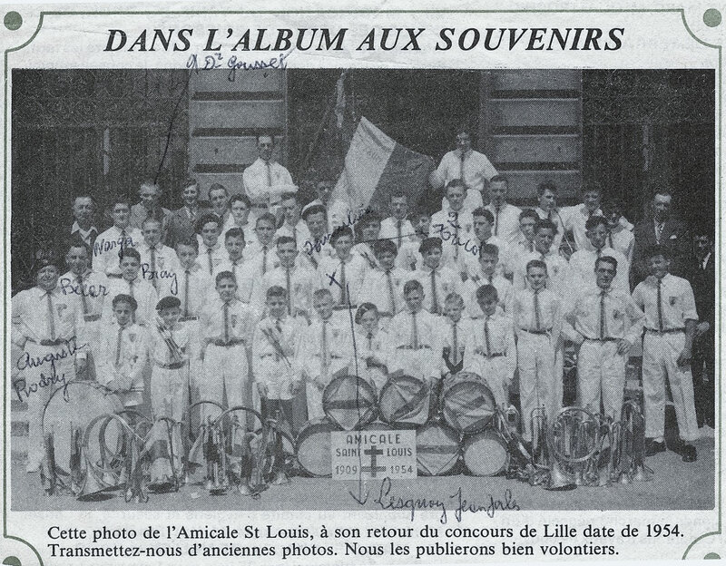 Amicale St Louis 1954