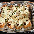 Millenium roll, le maki chaud au saumon et cream cheese