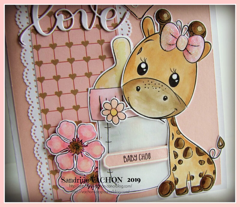 Carte WELCOME BABY OF LOVE (3)
