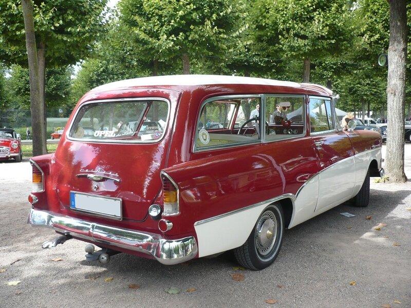 OPEL Olympia Rekord P1 Caravan 1959 Schwetzingen (2)