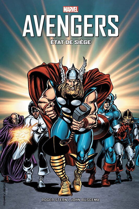 best of marvel avengers état de siège NED