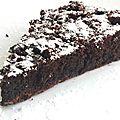 Gâteau au chocolat merveilleux