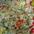 Salade de boulghour aux fèves