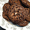 Cookies chocolat et guimauve
