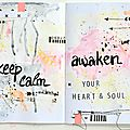 Art journal challenge #45 -> dt sodalicious