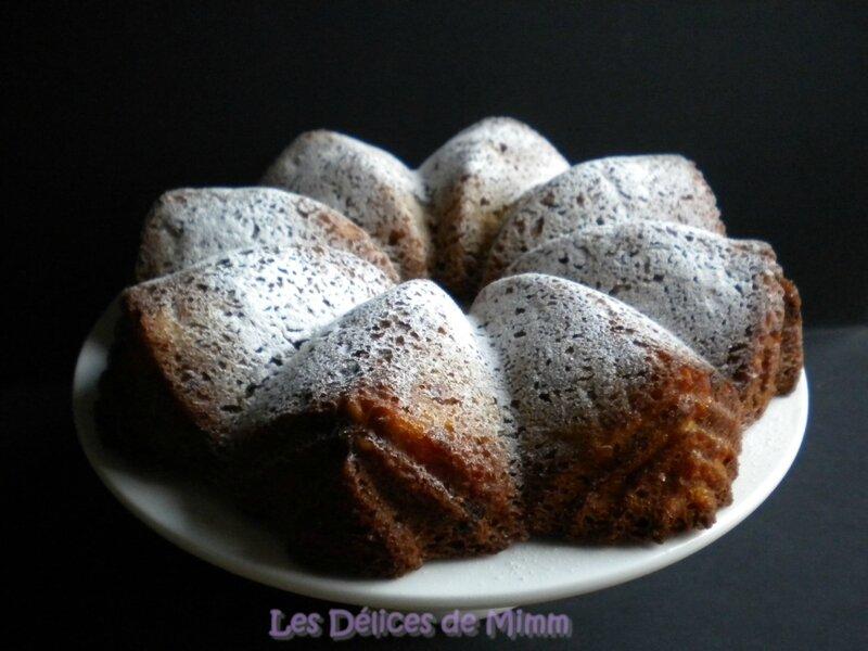 Gâteau d'automne aux pommes et aux noix 4