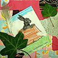 Atelier carterie enfant - Lièvre - récupération recyclage papiers - Déchets papiers