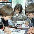Blois, printemps de l'education, un moment à l'école de la maison des enfants.