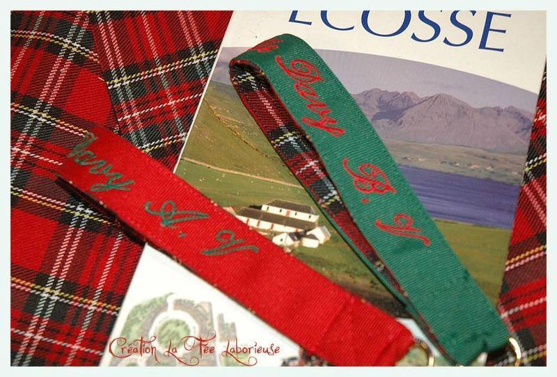 porte clefs écossais