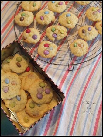 Cookies aux Smarties 003