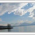 Promenade au bord du lac du bourget