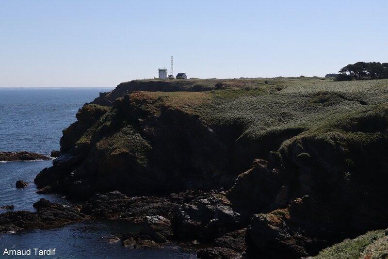 00741 Guidel - L'Ile de Groix - De la Pointe de Pen-Men au Sémaphore de Beg Melen