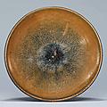 A Cizhou'Hare's Fur' bowl, Jin dynasty (1115-1234)