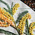 BLOC 5 MIMOSAS FLOWER FLOWER GISPY (4)