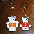 porte clef HELLO KITTY
