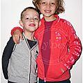 Portraits de nils et lyla