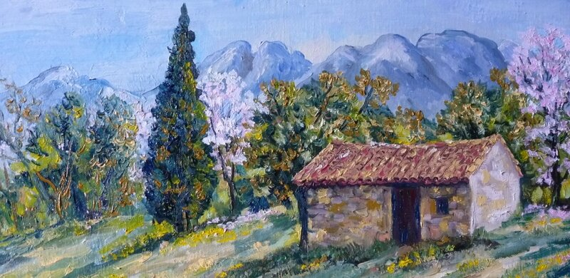 Dates des expositions pour 2017 annie rivi re artiste peintre paysagiste proven al accueuil - Office tourisme eyguieres ...