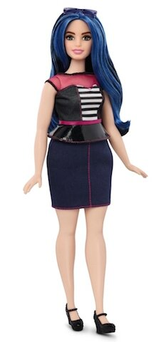 mattel barbie curvy 1
