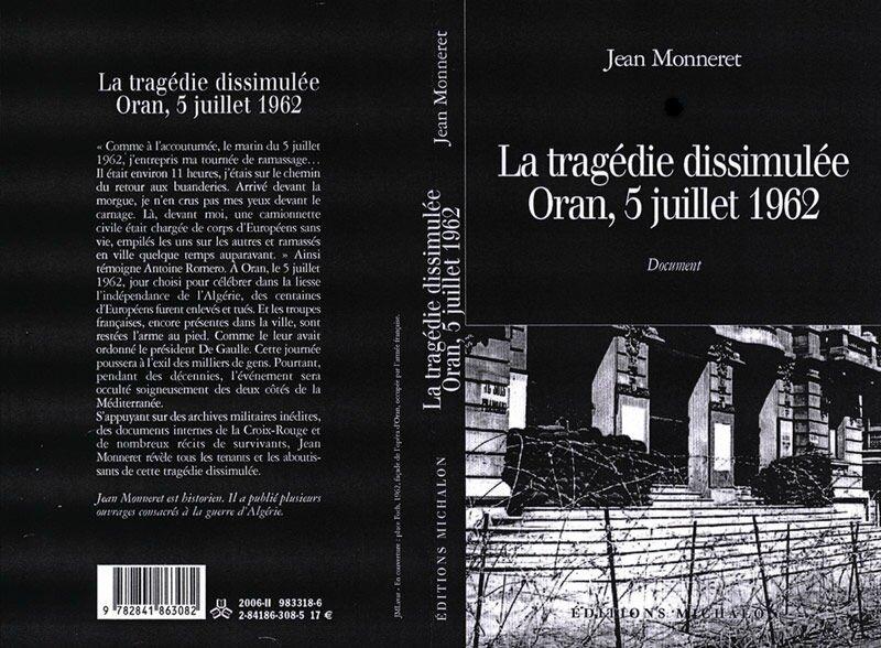 Oran 1962 Monneret couv