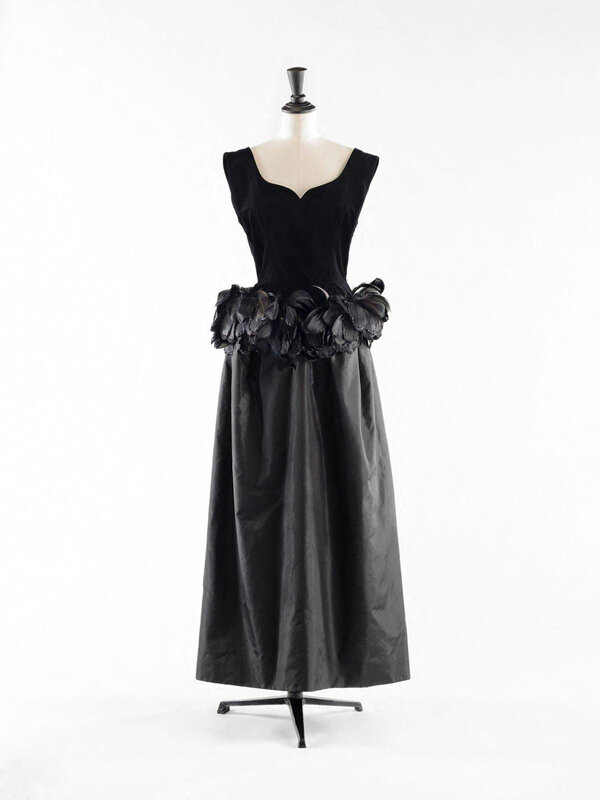 Cristóbal Balenciaga, Evening gown, 1965–66