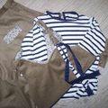 milleraies brun et jersey marine
