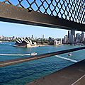Vue d'Harbour Bridge