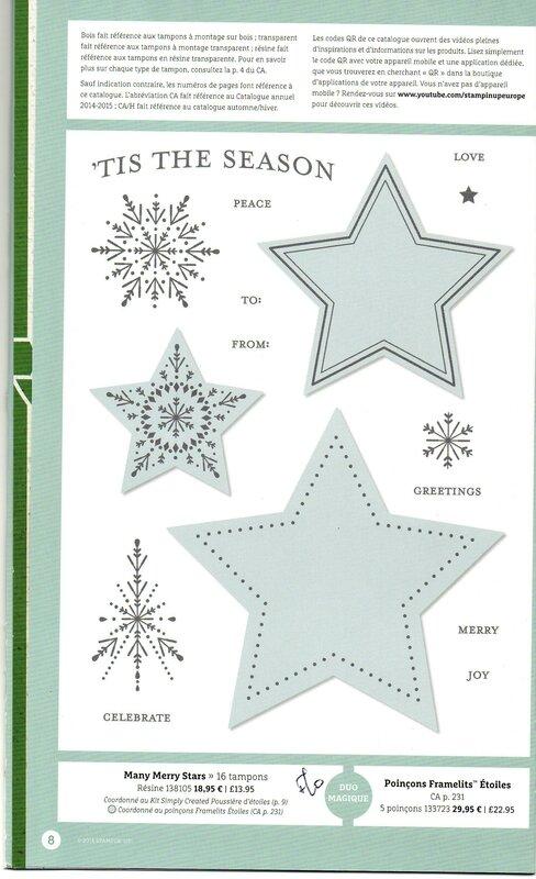 20 Many merry stars New catalogue