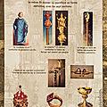 Les regalia du royaume de france, objets symboliques de nos rois