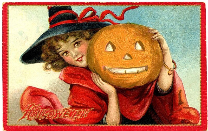 Halloween SweetWitchVintage-GraphicsFairy1