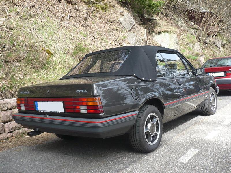 OPEL Ascona C GT cabriolet Orschwiller (2)