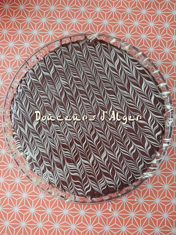 marbrage chocolat