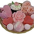 Idées cadeaux bain thème fleurs