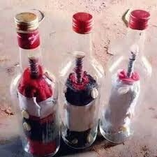 unir en bouteille