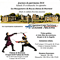 15-16 septembre 2018, animations au château de bourmont