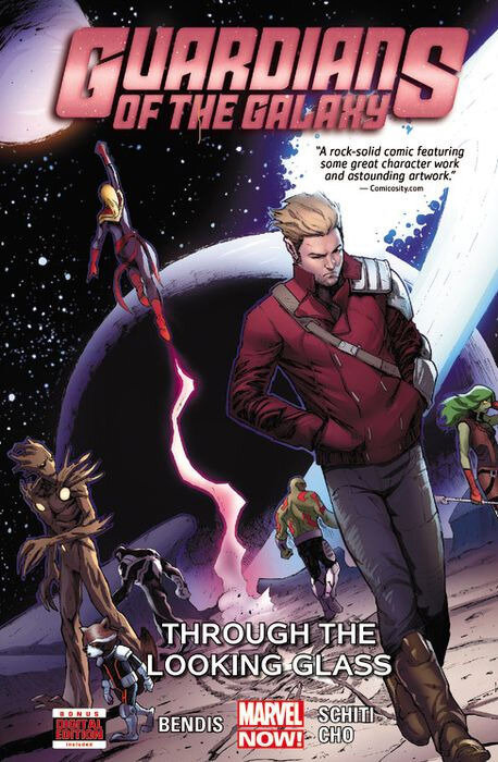 guardians of the galaxy 2013 vol 05 through the looking glass TPB