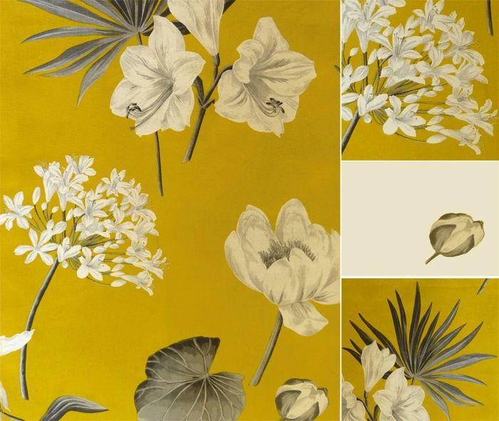 19 Tissu jaune