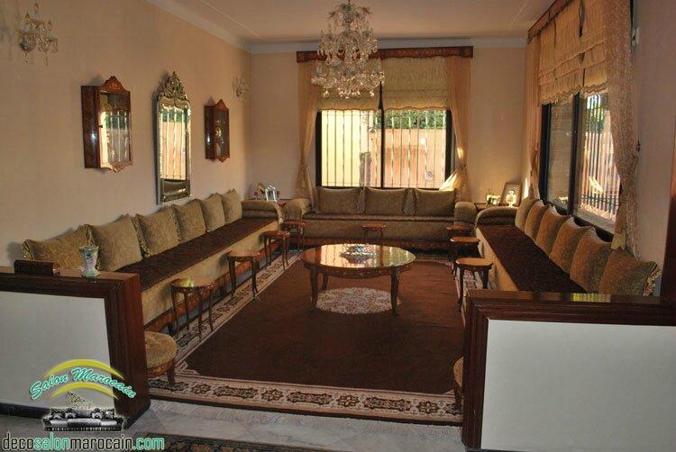 salon marocain moderne 2014 - Salon marocain moderne