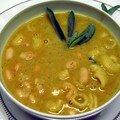 Liste des recettes de potages