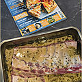 Tarvers de porc à la moutare & aux figues