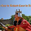 Danses médiévales à la cour de richard coeur de lion (château talmont)