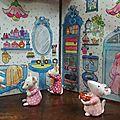 Miniatures - mon livre en 3d -la chambre