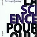 Science et critique sociale