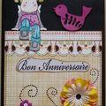Carte anniversaire Maybelline 2009