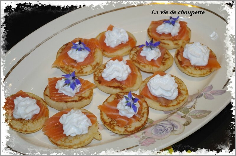 blinis saumon fumé chantilly ails et fines herbes-2