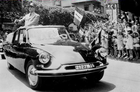 De Gaulle à Oran 1958