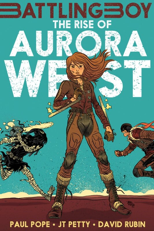 first second battling boy rise of aurora west TP