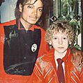 Michael jackson et david smithee, le 9 avril 1984